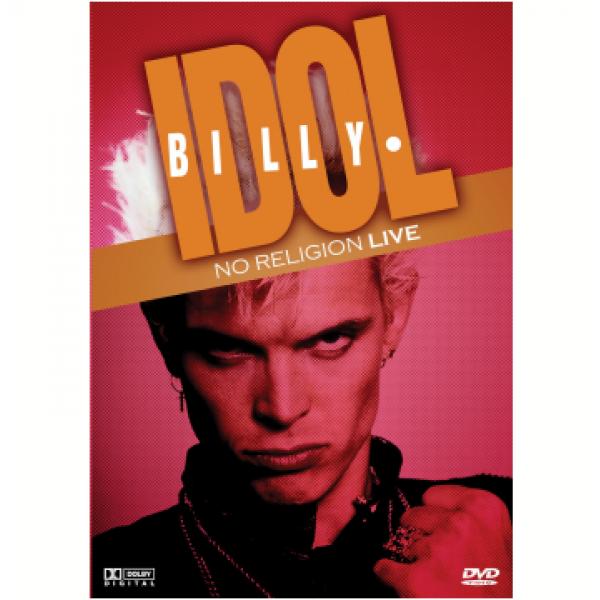 DVD Billy Idol - No Religion Live