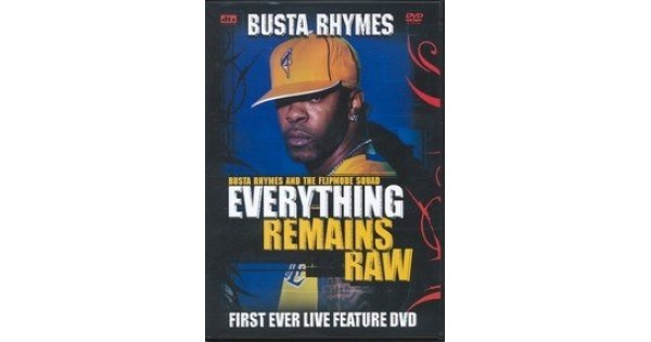 Dvd Busta Rhymes Everything Remains Raw Merci Disco