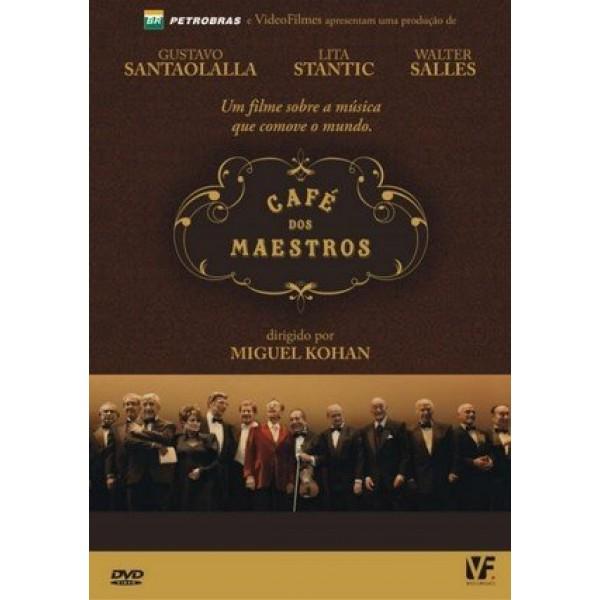 DVD Café dos Maestros