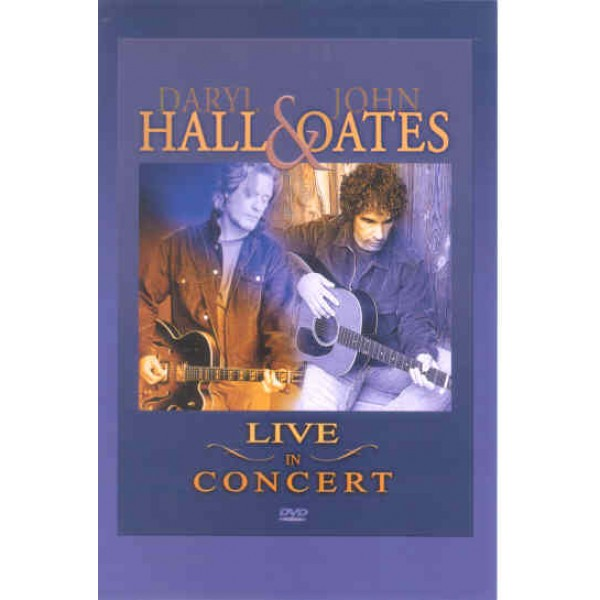 DVD + CD Daryl Hall/John Oates - Live In Concert (IMPORTADO)
