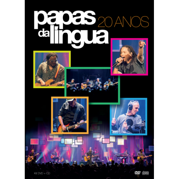 DVD + CD Papas da Língua - 20 Anos