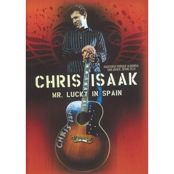 DVD Chris Isaak - Mr. Lucky In Spain