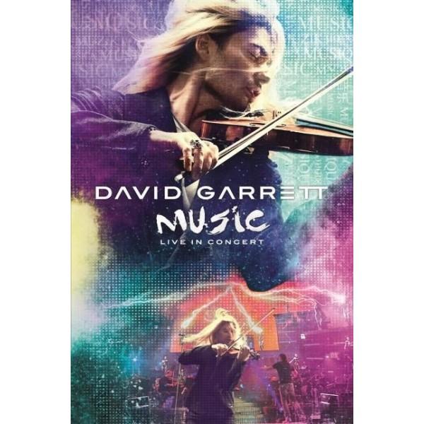 DVD David Garrett - Music: Live In Concert