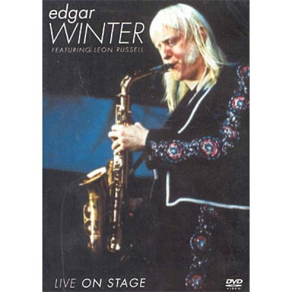 DVD Edgar Winter - Featuring Leon Russel: Live On Stage