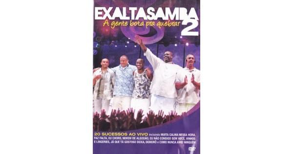 fae5ee498 DVD Exaltasamba - A Gente Bota Pra Quebrar 2, Merci Disco
