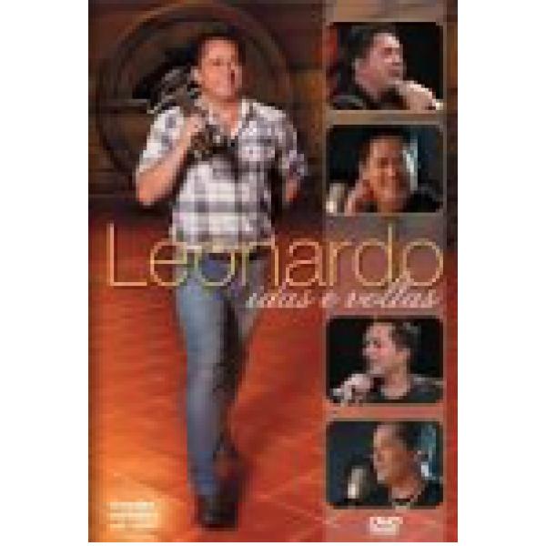 DVD Leonardo - Idas e Voltas