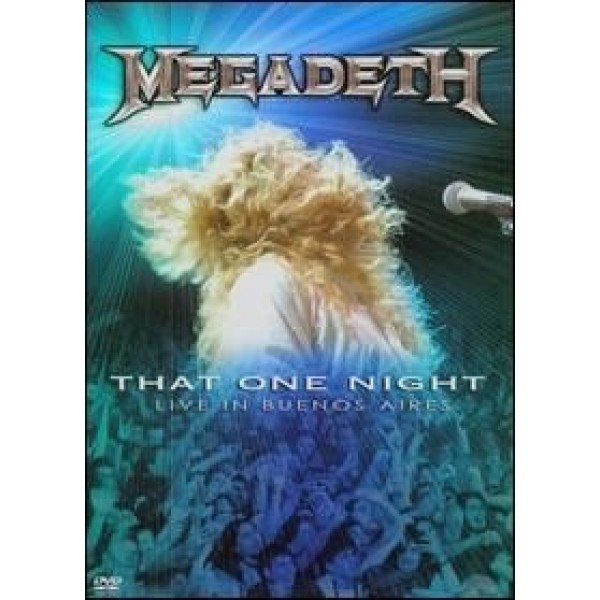 DVD Megadeth - That One Night: Live In Buenos Aires (IMPORTADO)