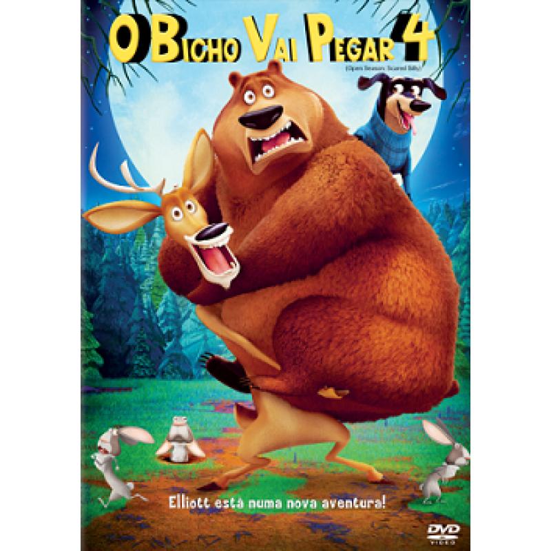 Dvd O Bicho Vai Pegar 4