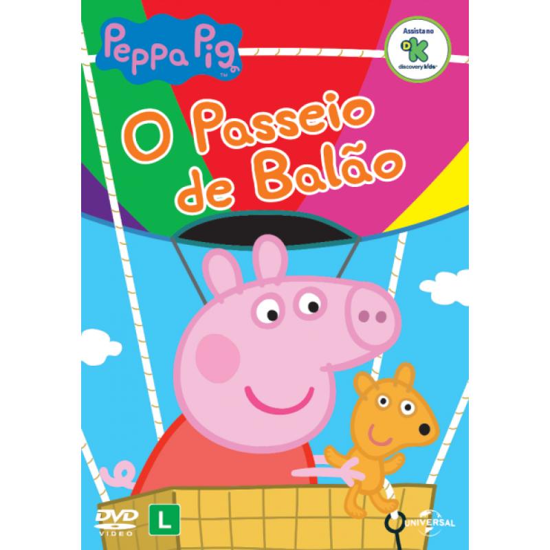 Esgotado DVD Peppa Pig - O Passeio de Balão