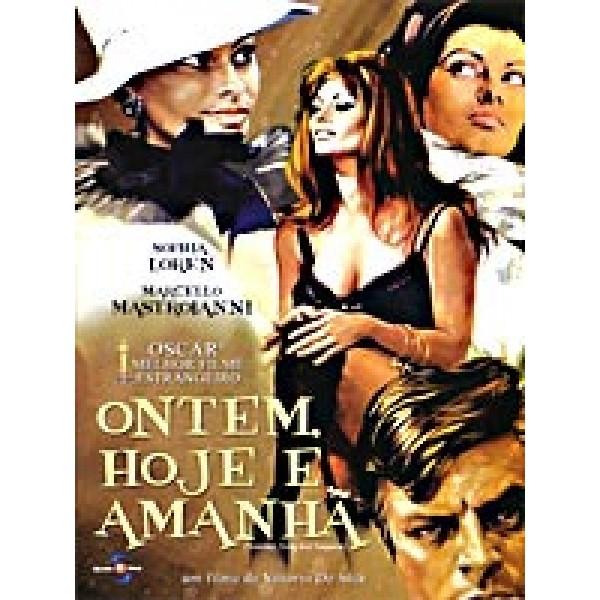 DVD Ontem, Hoje E Amanhã