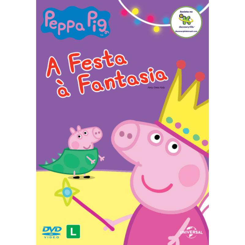 DVD Peppa Pig - A Festa À Fantasia