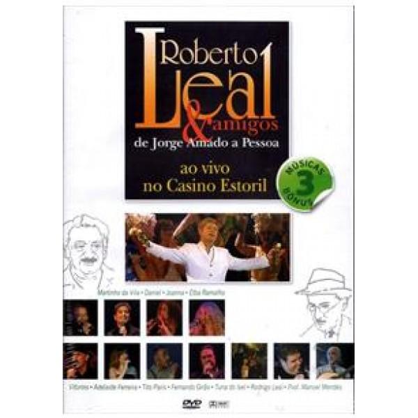 DVD Roberto Leal & Amigos - Ao Vivo No Casino Estoril