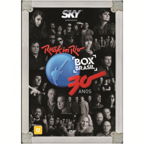 DVD Rock In Rio - Box Brasil: 30 Anos