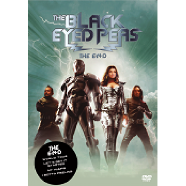 DVD The Black Eyed Peas - The End World Tour