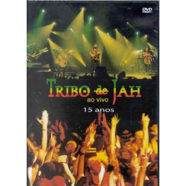 DVD Tribo de Jah - 15 Anos Ao Vivo