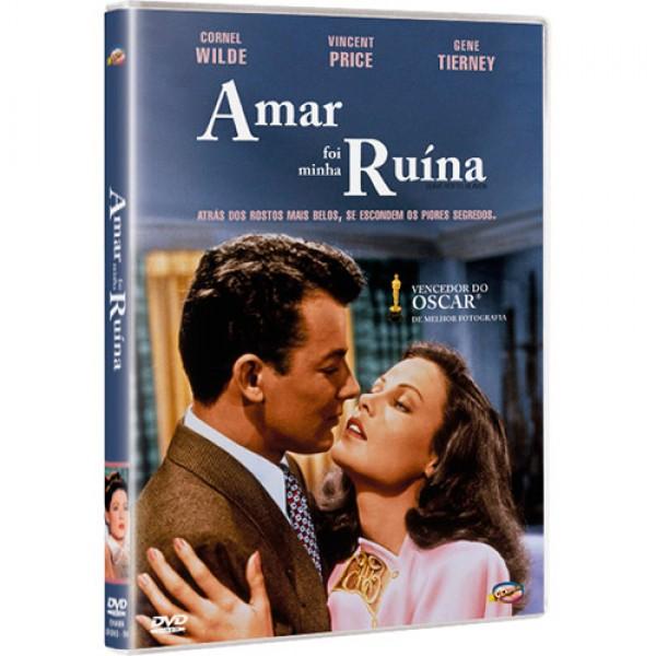 DVD Amar Foi Minha Ruína