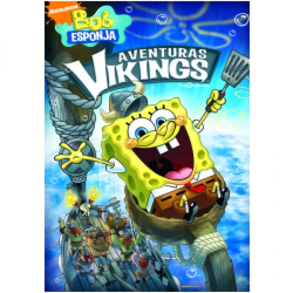 DVD Bob Esponja - Aventuras Vikings