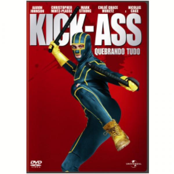 DVD Kick-Ass - Quebrando Tudo