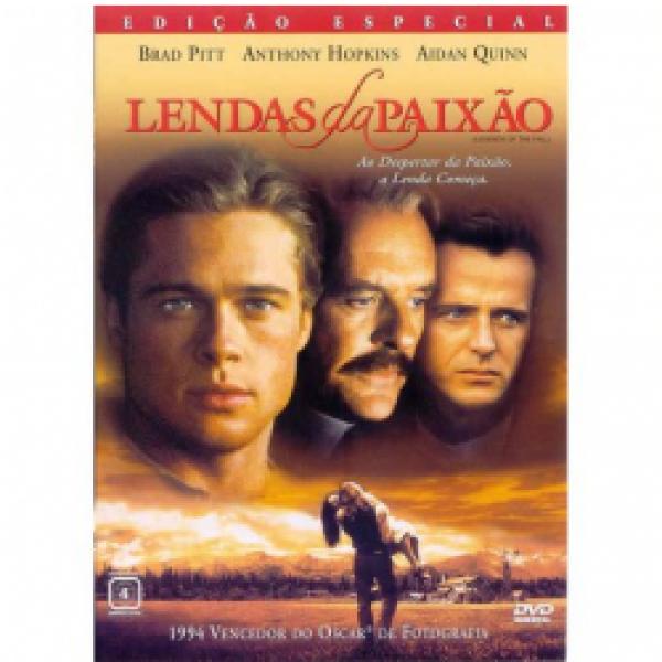 DVD Lendas da Paixão