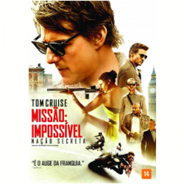 DVD Missão Impossível - Nação Secreta