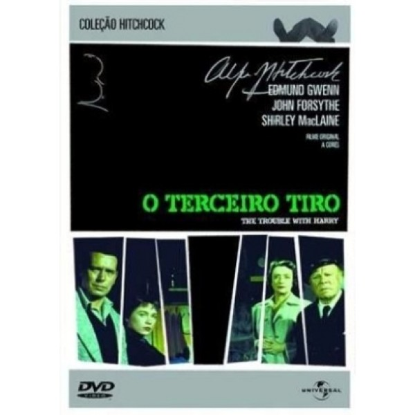 DVD O Terceiro Tiro (Alfred Hitchcock)