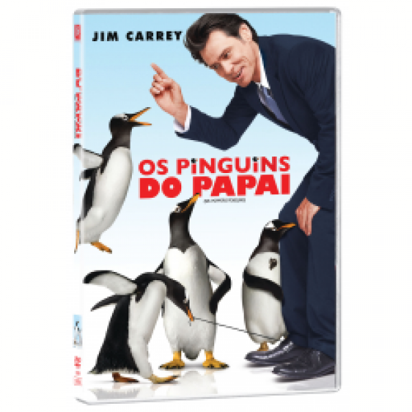 DVD Os Pinguins do Papai