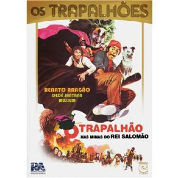 DVD Os Trapalhões - O Trapalhão nas Minas do Rei Salomão