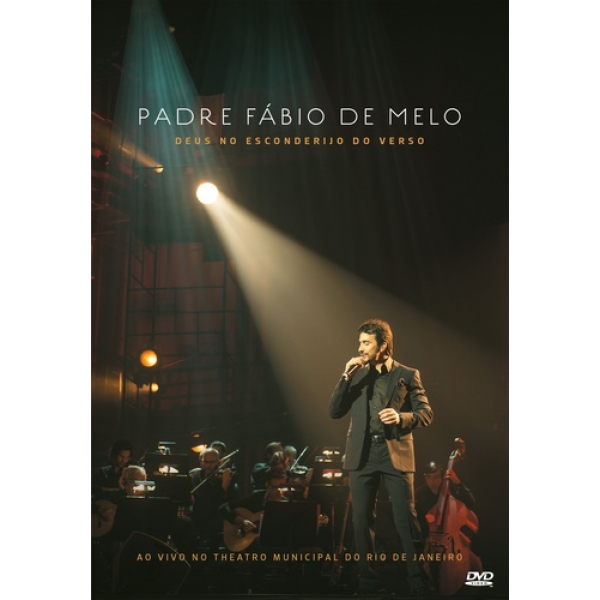 DVD Padre Fábio de Melo - Deus no Esconderijo do Verso