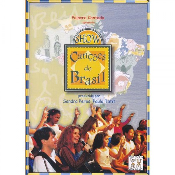 DVD Palavra Cantada - Canções do Brasil (DVD+CD)