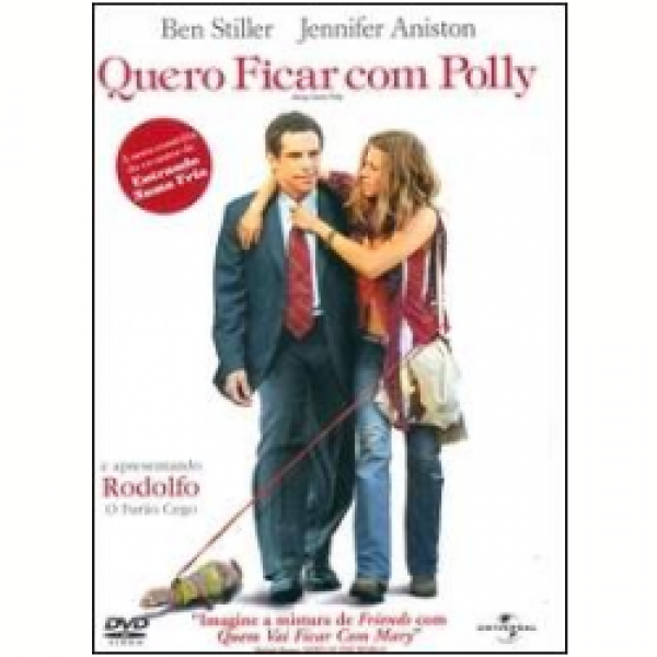 DVD Quero Ficar com Polly