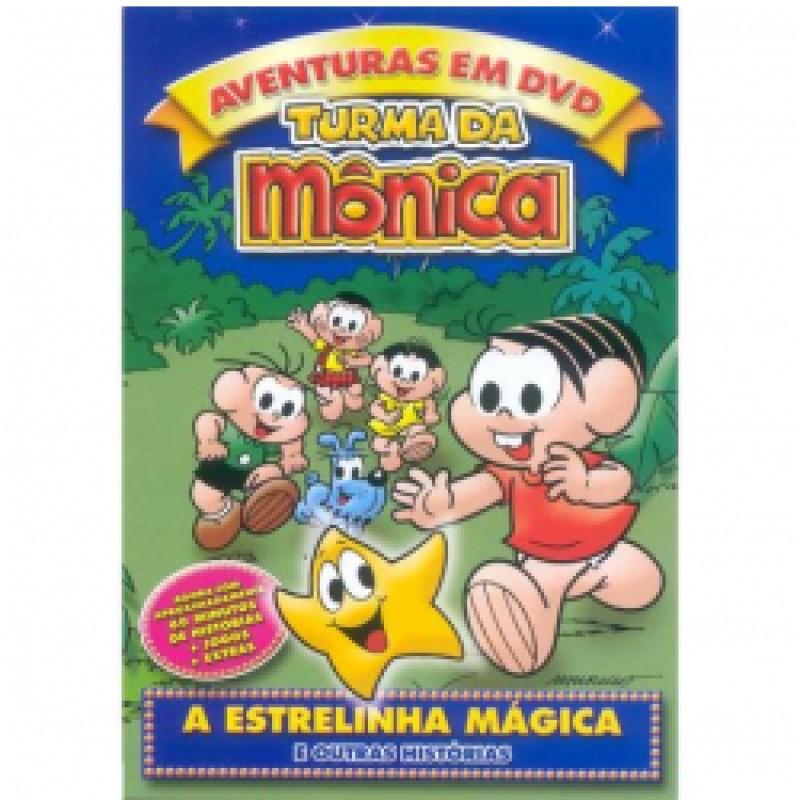 dvd a turma da monica ea estrelinha magica
