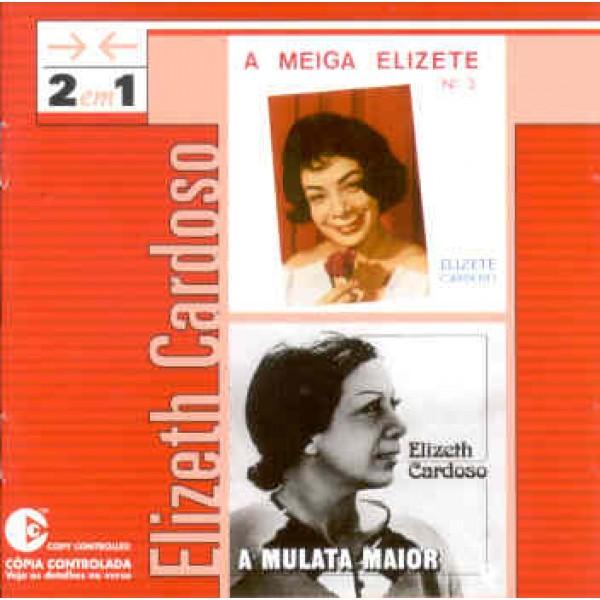 CD Elizeth Cardoso - 2 Em 1: A Meiga Elizete nº3/A Mulata Maior
