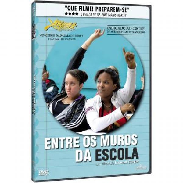 DVD Entre Os Muros Da Escola