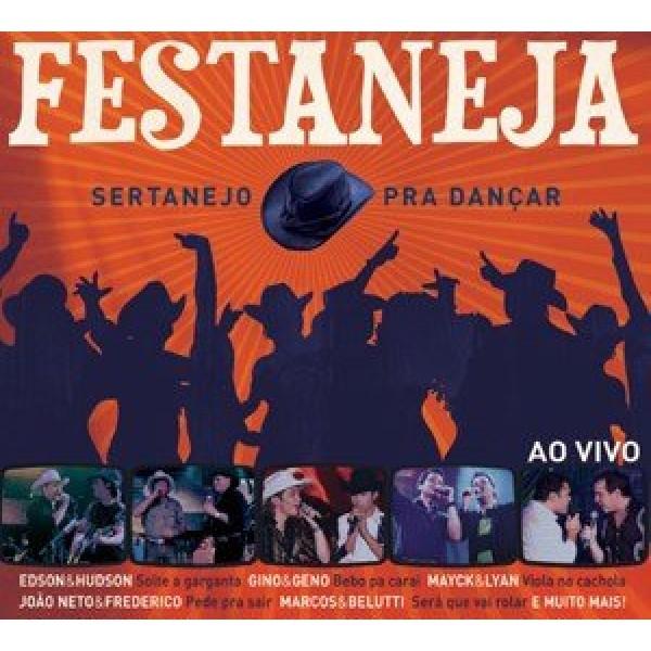 CD Festaneja - Sertanejo Pra Dançar
