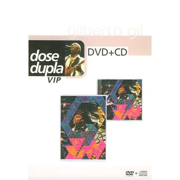 CD + DVD Gilberto Gil - Dose Dupla VIP: Eletracústico