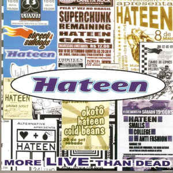CD Hateen - More Live Than Dead
