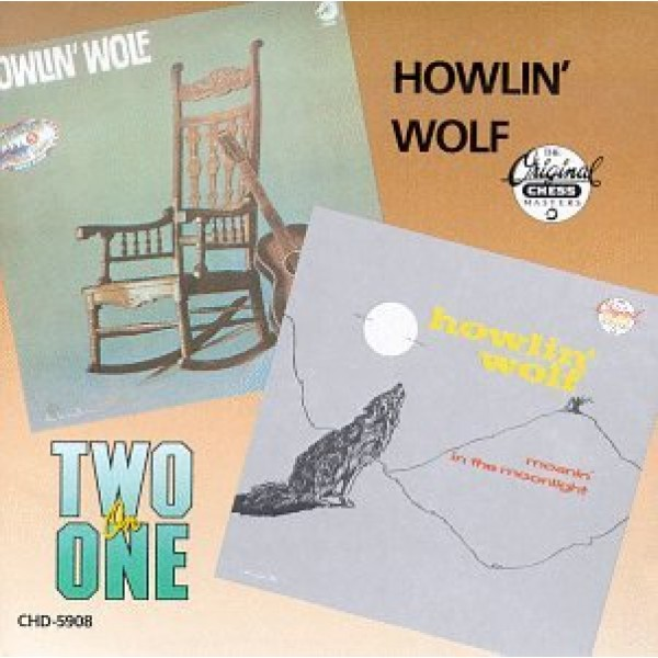 CD Howlin' Wolf - Moanin' In The Moonlight (IMPORTADO)