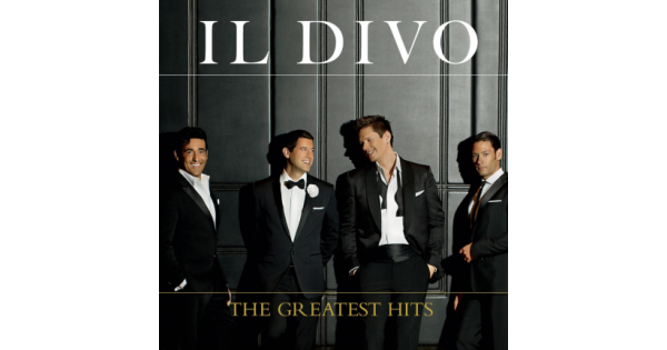 Cd il divo the greatest hits merci disco - Il divo all by myself ...