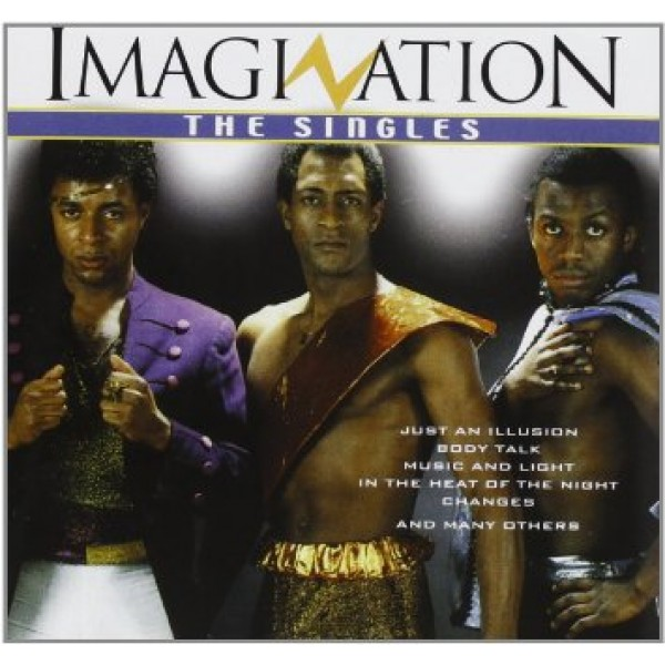 CD Imagination - The Singles (IMPORTADO)