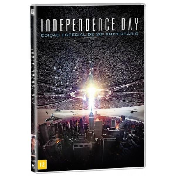 DVD Independence Day - Edição Especial de 20º Aniversário