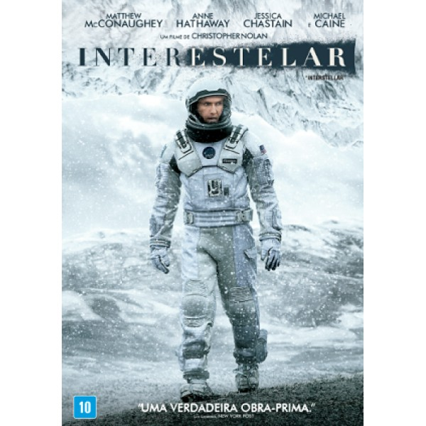 DVD Interestelar