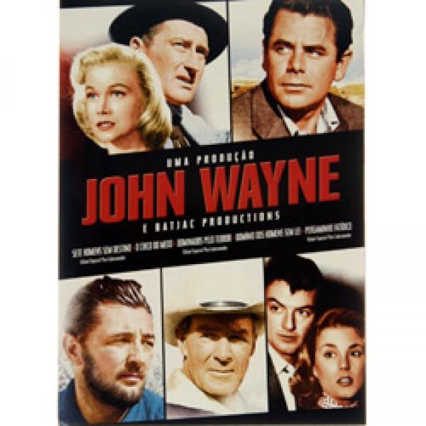 Box Uma Produção John Wayne (5 DVD's)