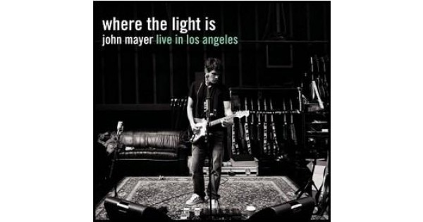 Cd John Mayer Where The Light Is Live In Los Angeles