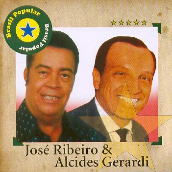 CD José Ribeiro & Alcides Gerardi - Brasil Popular