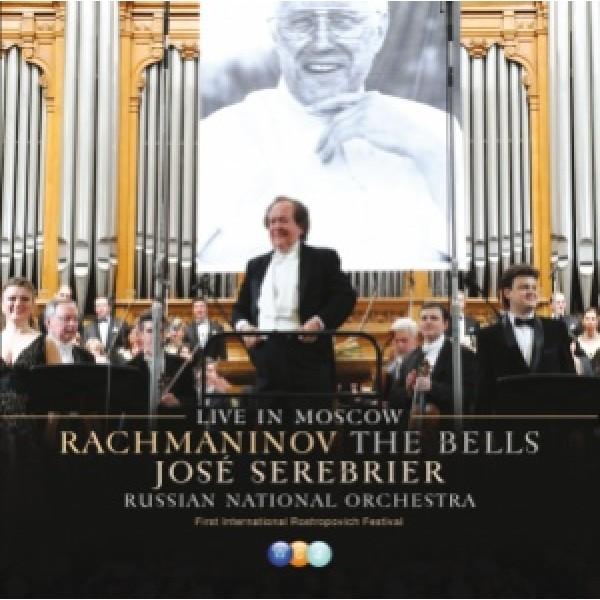 CD José Serebrier - Rachmaninov: The Bells Live In Moscow