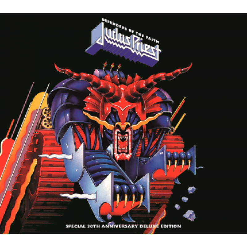 box judas priest defenders of the faith 30th anniversary deluxe edition 3 cd 39 s merci disco. Black Bedroom Furniture Sets. Home Design Ideas