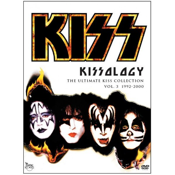 Box Kiss - Kissology - The Ultimate Kiss Collection Vol.3 (1992-2000) (3 DVD's)