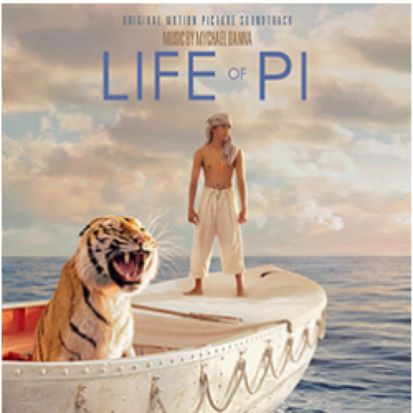 CD Life Of Pi (Mychael Danna - O.S.T.)