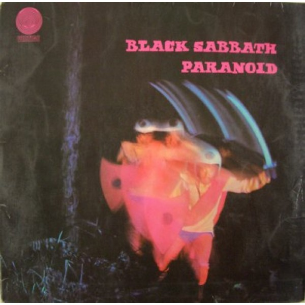 LP Black Sabbath - Paranoid