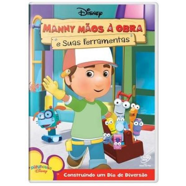 DVD Manny Mãos À Obra E Suas Ferramentas